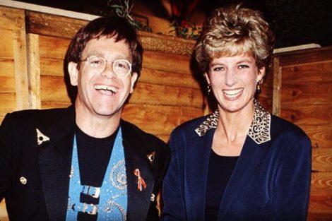 Diana E Elton John Elton John Partilha Fotografia Inédita Com Princesa Diana