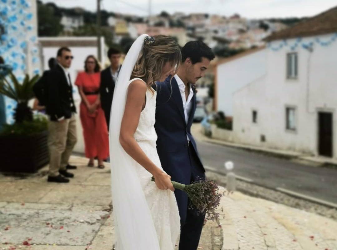 Francisco Garcia Sofia Sousa Francisco Garcia Celebra Primeiro Mês De Casamento