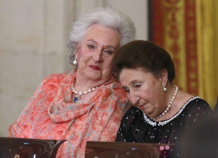 infanta pilar duchess of badajoz b568ebdc b24e 4d40 ad04 63ee9c82a24 resize 750 Irmã de Juan Carlos já teve alta hospitalar