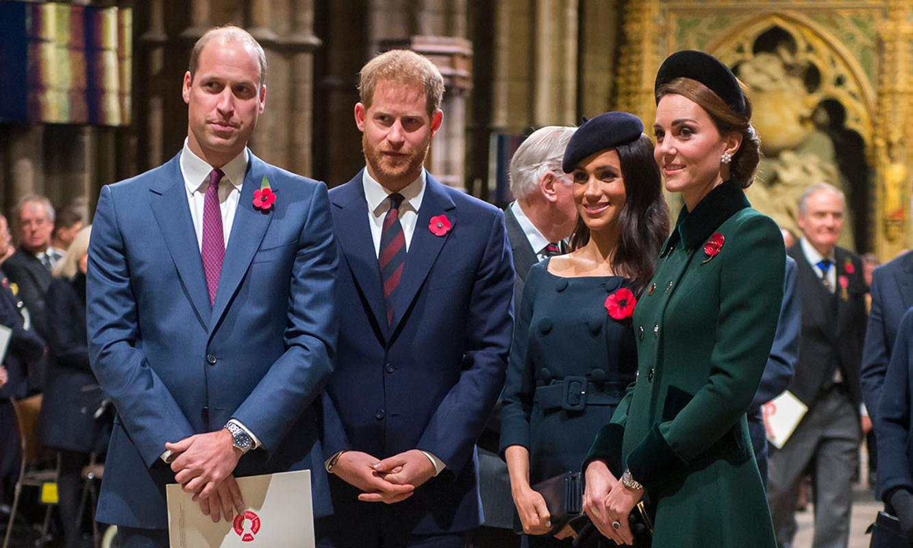 Kate William Meghan Harry Especialistas Em Leitura De Lábios Revelam Últimas Palavras Trocadas Entre William E Harry