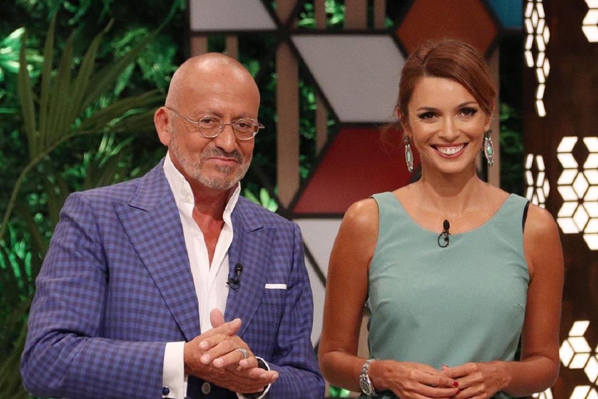 Manuel Luis Goucha Maria Cerqueira Gomes 1 Maria Cerqueira Gomes E Goucha Surpreendidos Por Fã