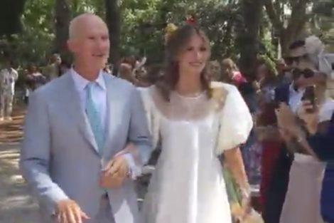 Matilde Breyner Casamento Vídeo: Matilde Breyner Emociona-Se A Caminho Do Altar