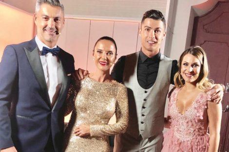 Vitor Baia Iva Domingues Cristiano Ronaldo Iva Domingues Faz Primeira Aparição Pública Após Internamento De Ângelo Rodrigues