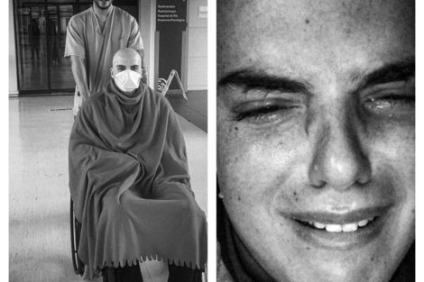 Befunky Collage Ex-Namorado De Fanny Deixa Testemunho Emocionante Sobre A Luta Contra O Cancro