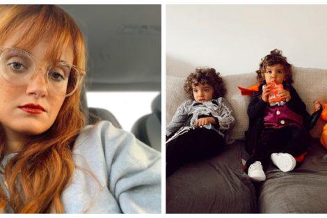 Carolina Deslandes e filhos Carolina Deslandes é arrasada nas redes sociais após mostrar o filho todo nu
