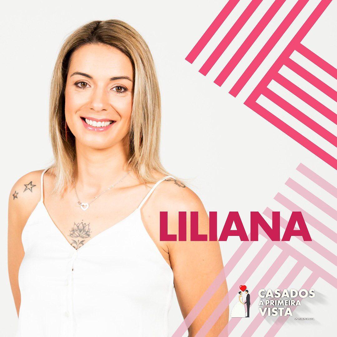 Liliana Noivo Que Ia Casar Com Liliana No 'Casados À Primeira Vista' Foi Expulso Do Programa