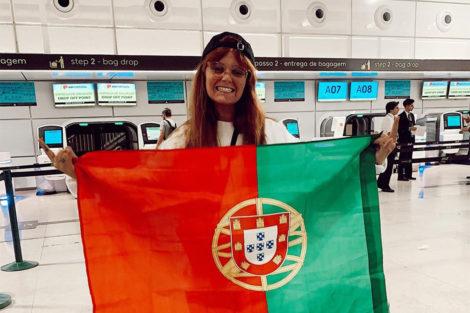 Carolina Deslandes Carolina Deslandes Nos Jornais Brasileiros Depois De Atuar No Rock In Rio