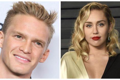 Cody Simpson E Miley Cyrus Miley Cyrus Comemora Aniversário De Cody Simpson Com Foto Muito Atrevida