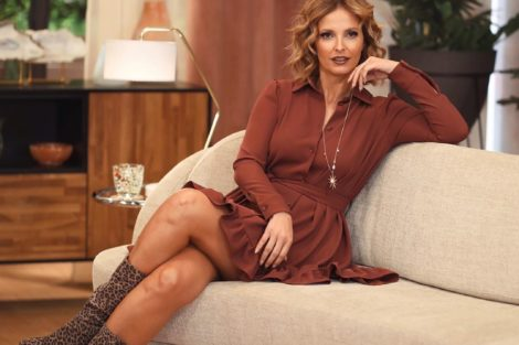 Cristina Ferreira 2 1 &Quot;Maravilhosamente Encantadora&Quot;. Cristina Ferreira Arrasa Com Cores De Outono