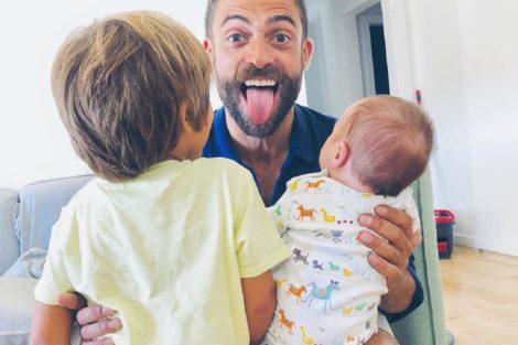 Diogo Amaral Mateus Oliver Filhos Diogo Amaral Mostra Fotografia Inédita Do Filho Tirada Minutos Após O Nascimento