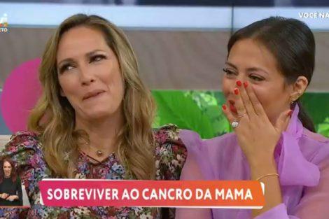Fernanda Serrano Sofia Ribeiro Pichi Sofia Ribeiro E Fernanda Serrano Em Lágrimas Ao Recordar A Luta Contra O Cancro