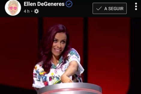 Filomena Cautela Ellen Degeneres Surpreende Filomena Cautela Em Dia De Estreia Do Seu Programa