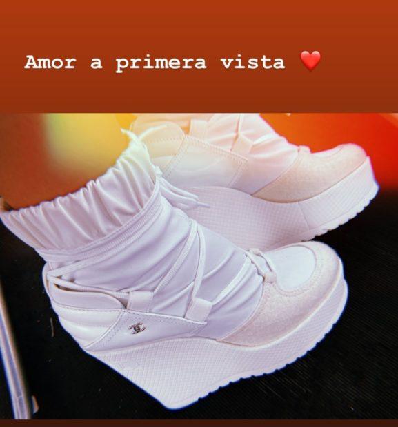 Georgina Rodriguez Chanel &Quot;Amor À Primeira Vista&Quot;. Saiba Quanto Custam Os Sapatos De Luxo De Georgina Rodríguez