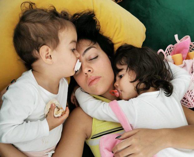 Georgina Rodríguez, Alana Martina, Filhos De Ronaldo