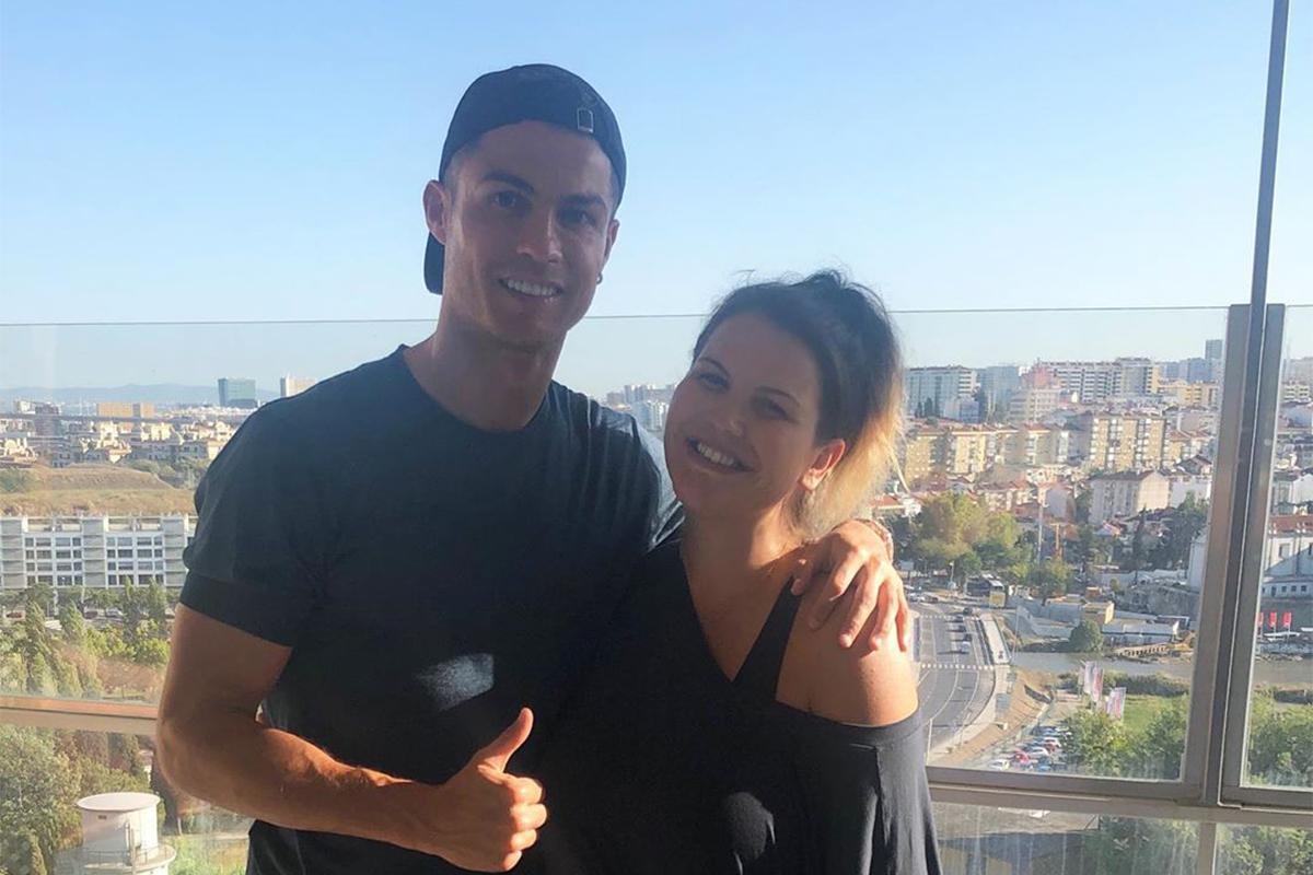 Katia Aveiro As Incríveis Parecenças Entre A Filha De Katia Aveiro E A De Cristiano Ronaldo