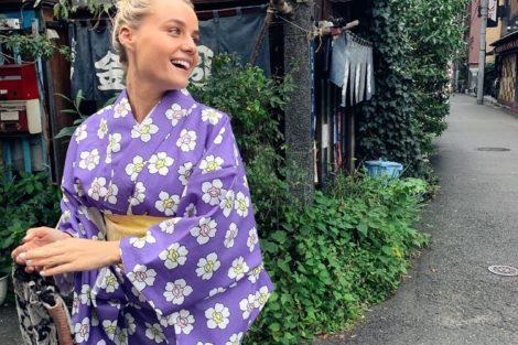 Kelly 1 De Férias, Kelly Bailey E Lourenço Ortigão Vestem-Se À Japonesa