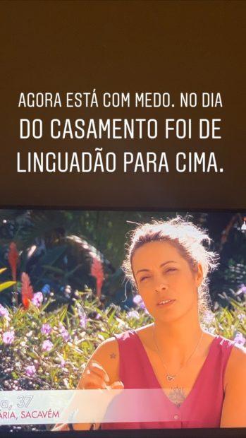 Liliana 'Pipoca Mais Doce' Crítica Concorrentes De 'Casados À Primeira Vista'