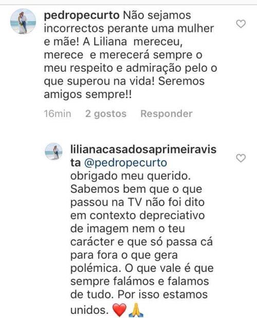 Liliana E Pedro Pe Curto Mensagem 'Casados À Primeira Vista'. Liliana Ataca Produção: &Quot;Só Passa O Que Gera Polémica&Quot;