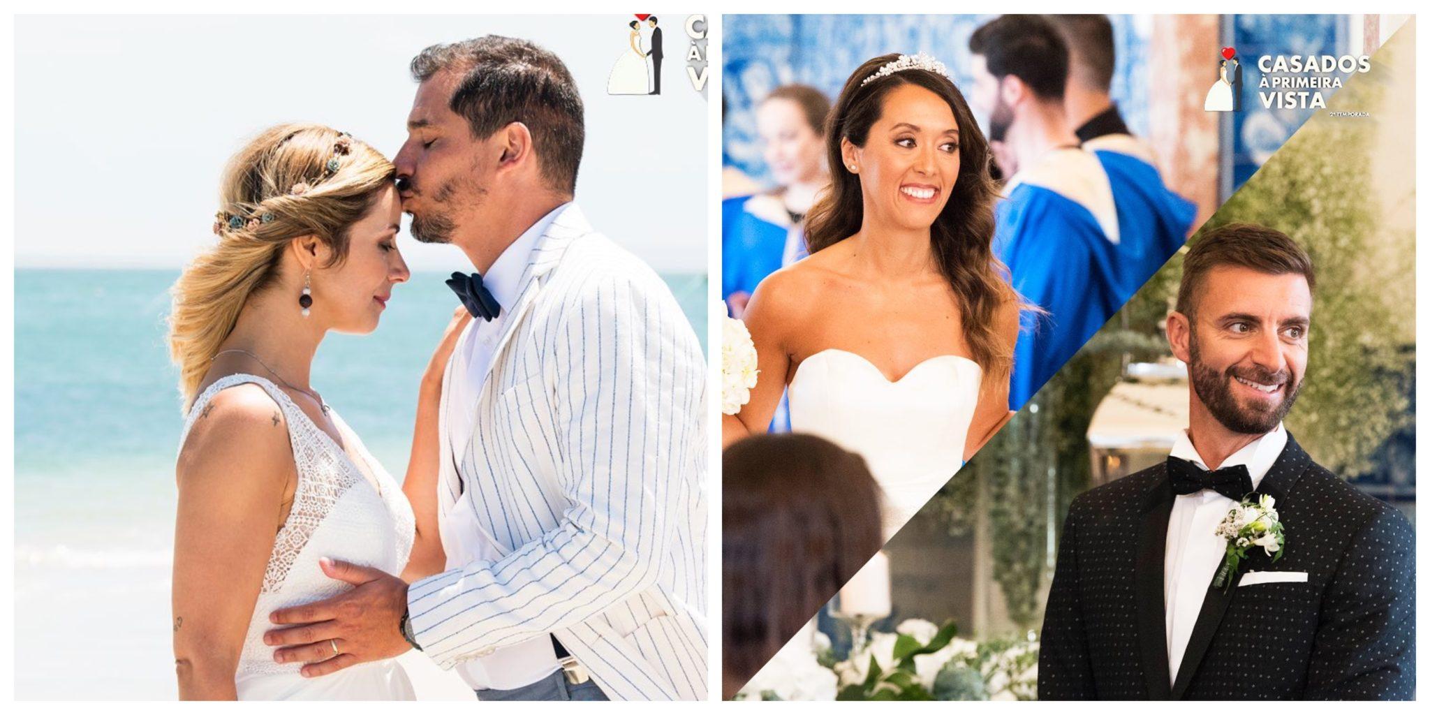 Liliana Pedro Marta Luis Casados A Primeira Vista Todos Os Casais De 'Casados À Primeira Vista' Estão Separados? Produção Responde