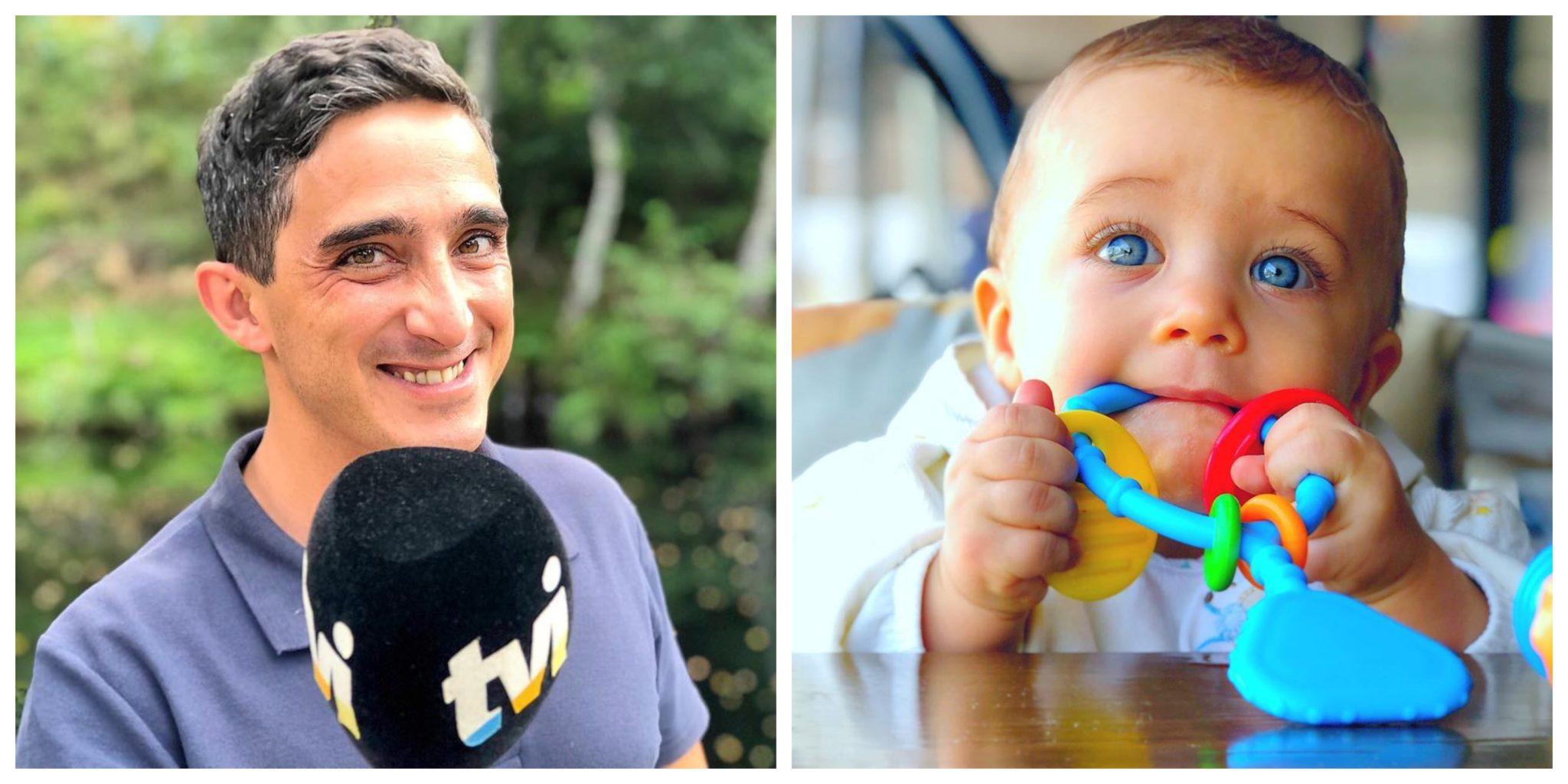 """manuel melo e filho Manuel Melo encanta seguidores com nova fotografia do filho: """"Estes olhos..."""""""