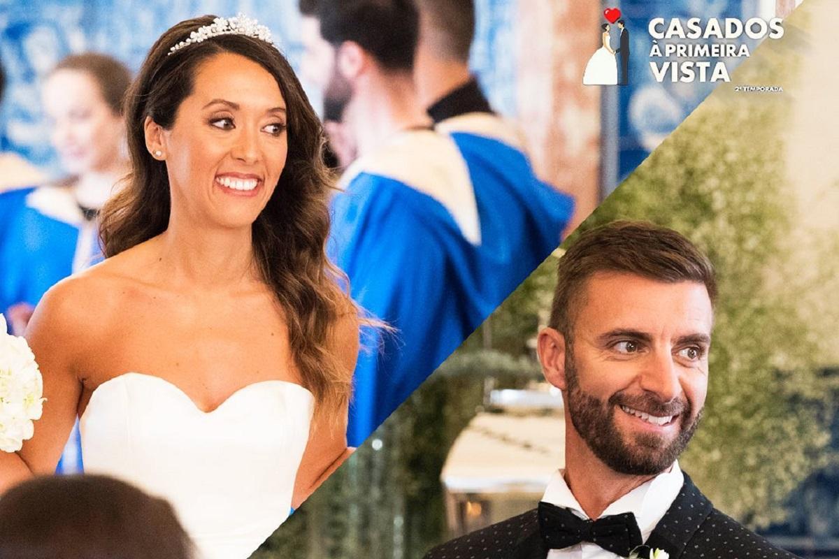 Marta Rangel Luis Casados A Primeira Vista Casados À Primeira Vista. Marta Rangel Não Gostou Do Vestido De Noiva