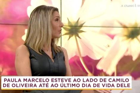 Paula Marcelo1 Paula Marcelo Faz Revelações Chocantes Sobre Camilo De Oliveira