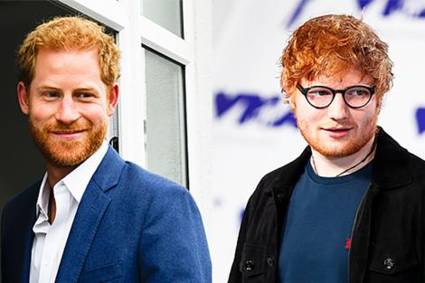Prince Harry Vs Ed Sheeran Fb Príncipe Harry E Ed Sheeran Juntos Em Novo Projeto