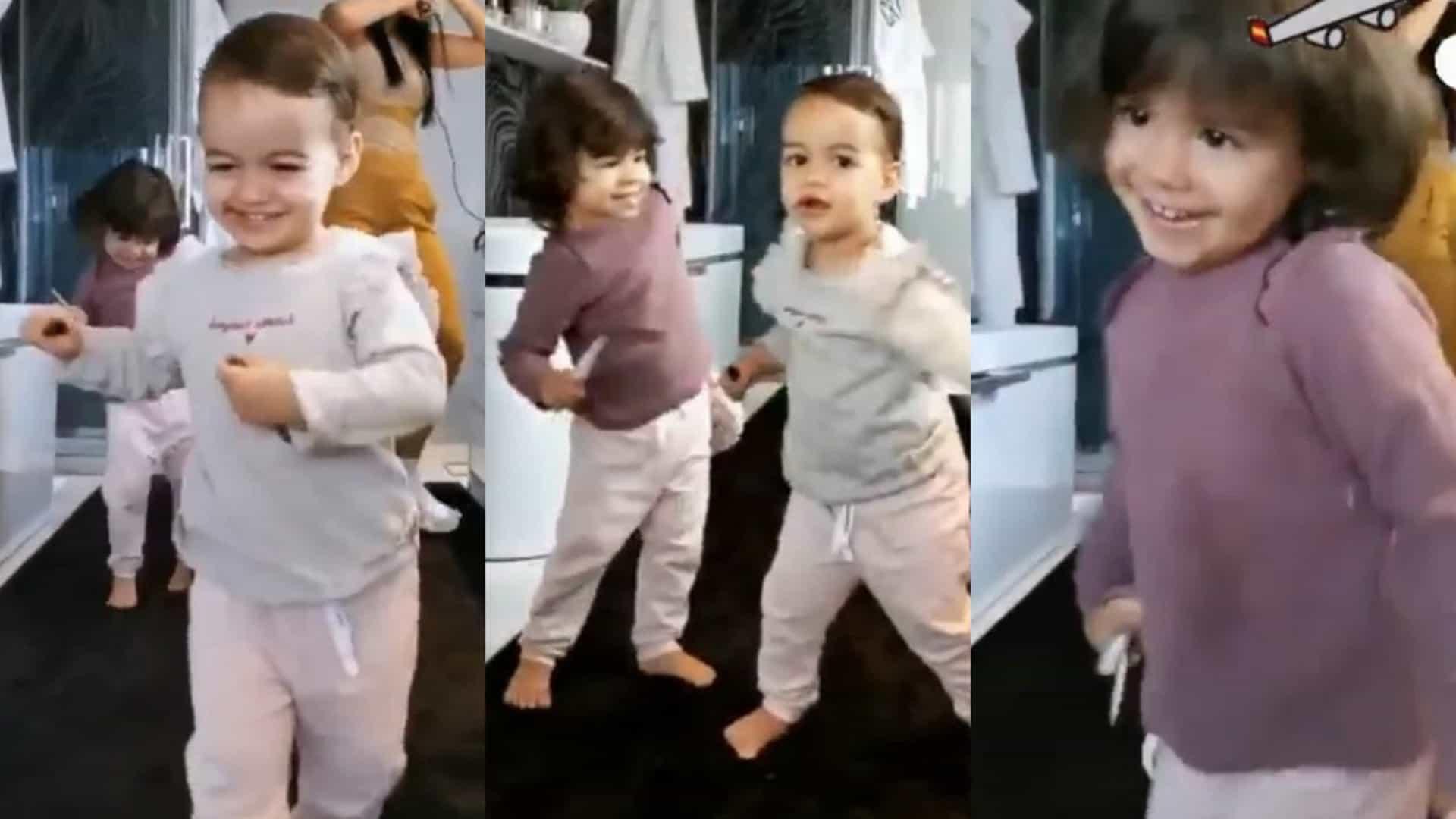 Ronaldo Filhas Que Ternura! Georgina Rodríguez E Os Filhos Encantam A Dançar