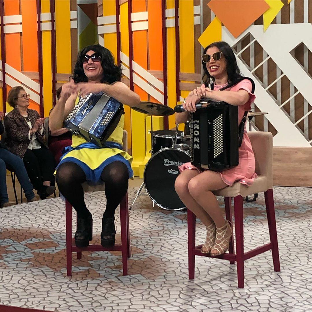 Rosinha Joao Baiao3 João Baião Mascara-Se De Rosinha Na Sic