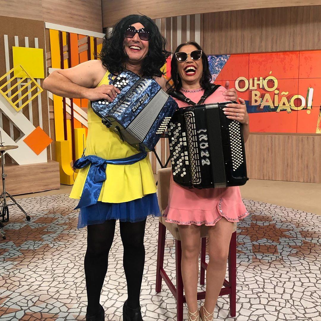 Rosinha Joao Baiao5 João Baião Mascara-Se De Rosinha Na Sic