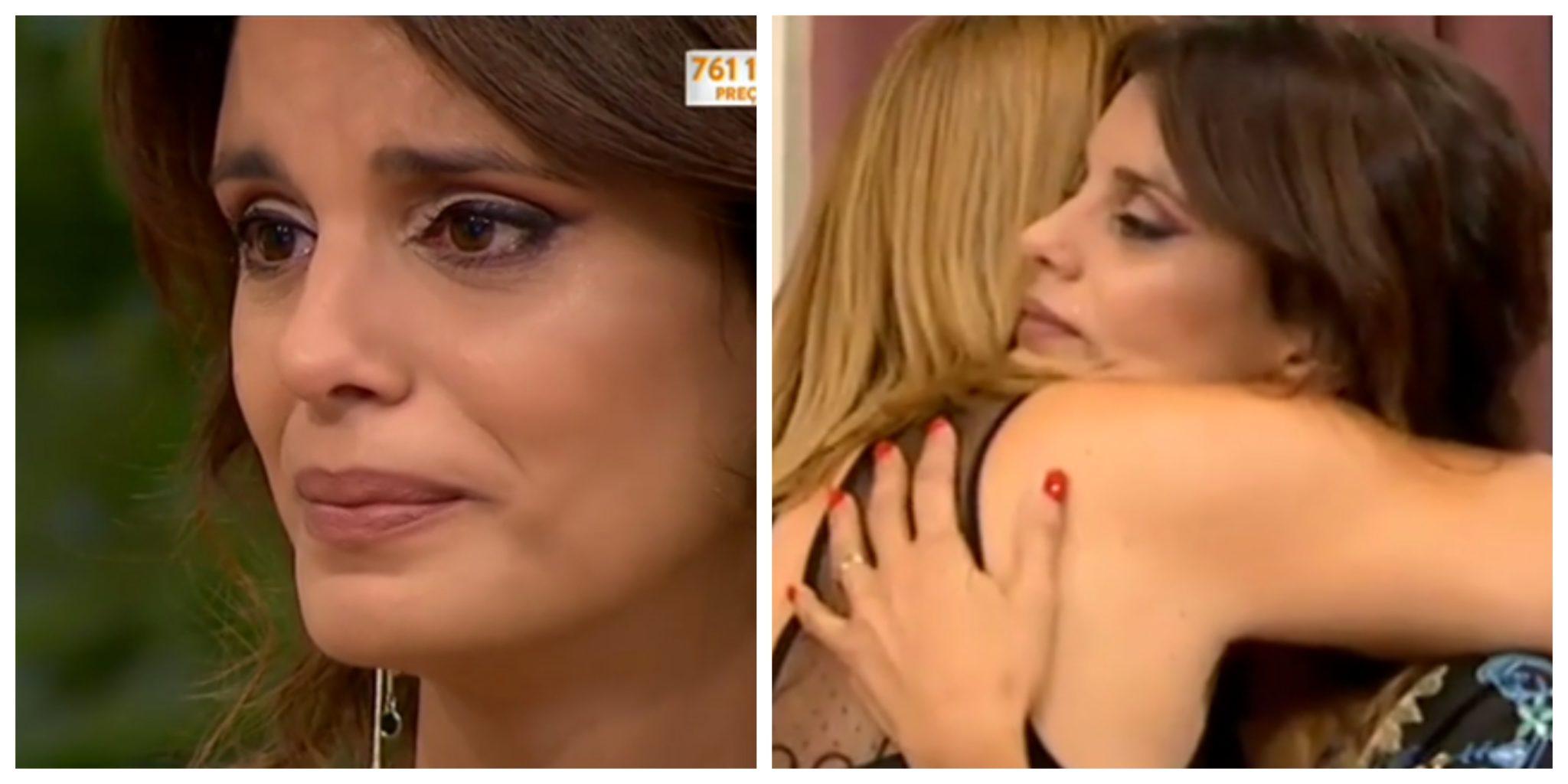 Sara Santos E Cristina Ferreira Apresentadora Da Sic Em Lágrimas Ao Recordar O Momento Em Que Perdeu A Filha
