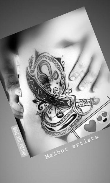 Sghhhrsthsrt 616X1024 'Casados À Primeira Vista': Liliana Oliveira Faz Tatuagem Na Virilha E Mostra Ao Pormenor