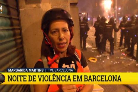 Tvi Jornalistas Portugueses Obrigados A Usar Capacetes Para Se Protegerem