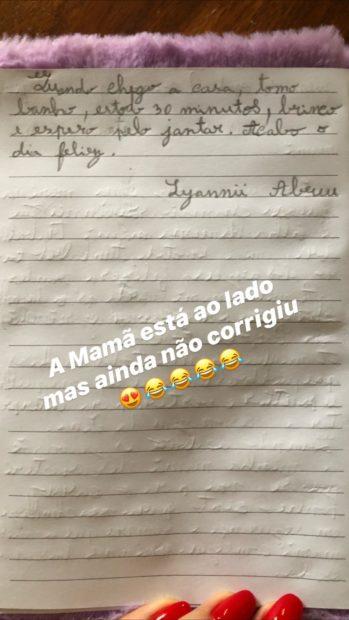 Lyannii Luciana Abreu 1 Filha De Luciana Abreu Escreve Texto Comovente Sobre A Mãe