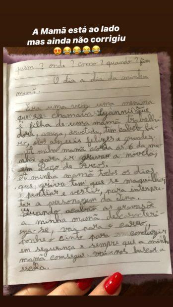 Lyannii Luciana Abreu 2 Filha De Luciana Abreu Escreve Texto Comovente Sobre A Mãe