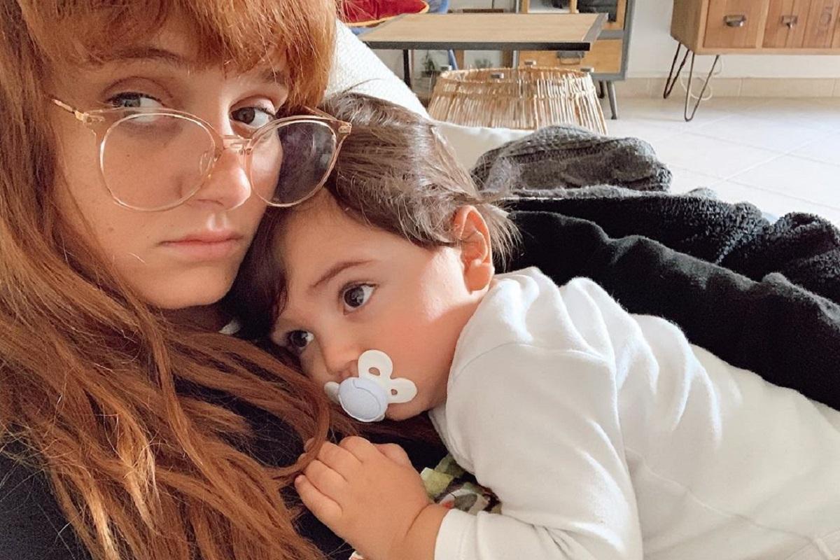 Carolina Deslandes Filho Carolina Deslandes Preocupada Devido À Saúde De Um Dos Filhos