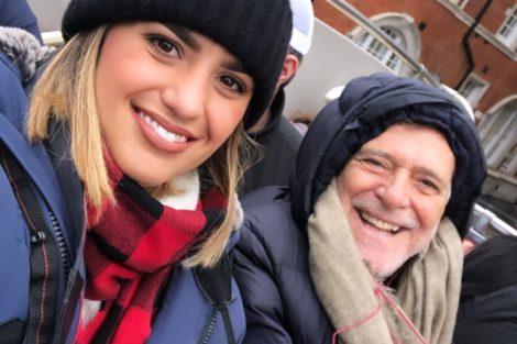 Carolynne Junger Jose De Abreu E1574796497811 José De Abreu, De 73 Anos, Está De Férias Com A Namorada De 22