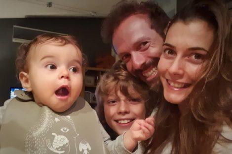 claudia borges familia filhos Cláudia Borges assinala aniversário do filho com fotografia muito especial