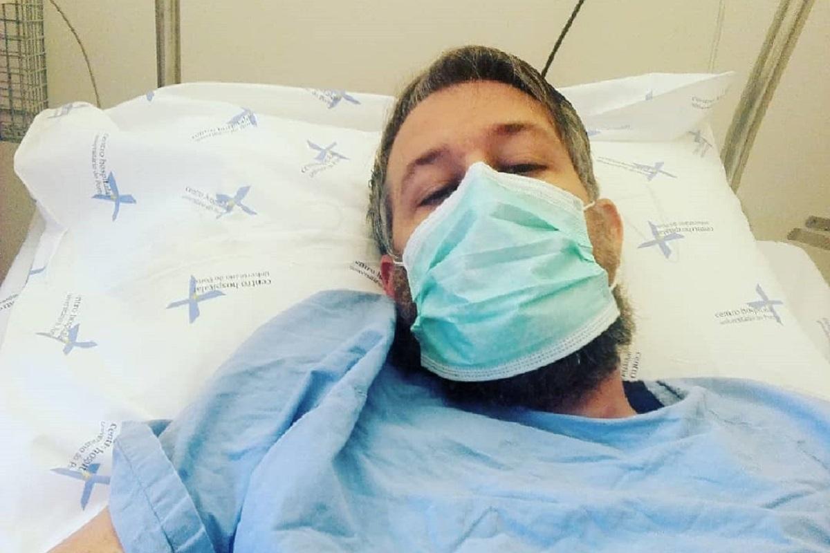 Claudio Mendes 1 Ex-Concorrente De 'Casados À Primeira Vista' Regista Melhorias No Estado De Saúde