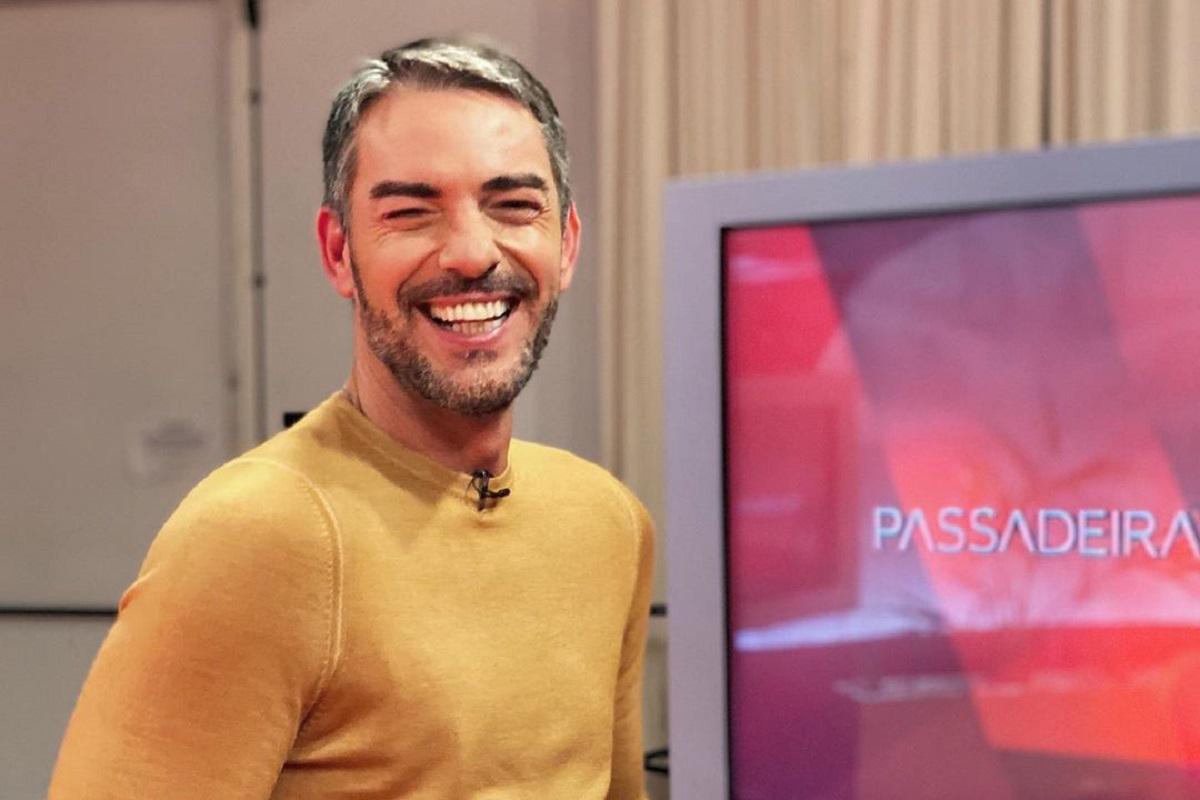 Claudio Ramos Passadeira Vermelha Cláudio Ramos Passa Fim De Semana Com Companhia Muito Especial