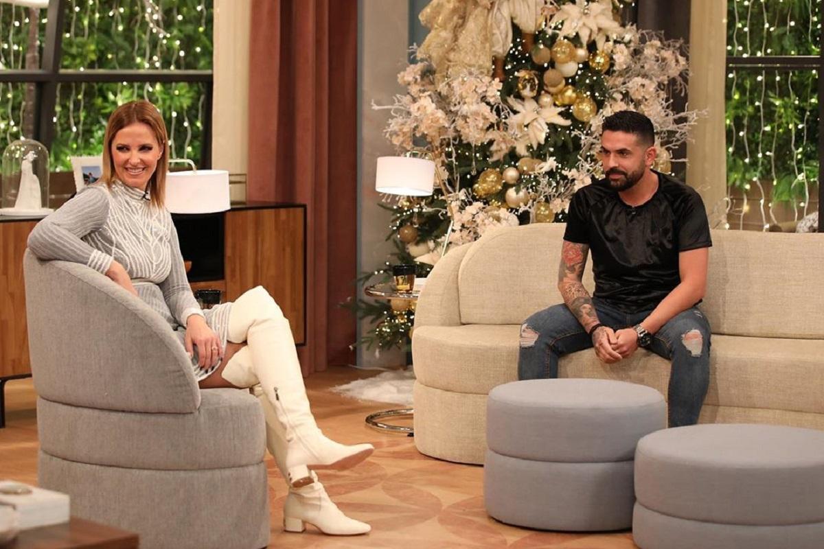 Cristina Ferreira Lucas Casados A Primeira Vista Sexo Com Anabela? Lucas Deu A Resposta Em Direto No 'Programa Da Cristina'