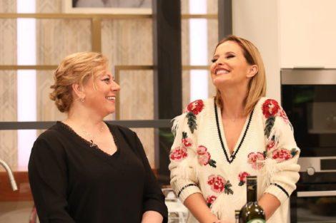 Cristina Ferreira Tia Catia Cristina Ferreira Recebe Na Sic Uma Concorrente Do 'Masterchef'