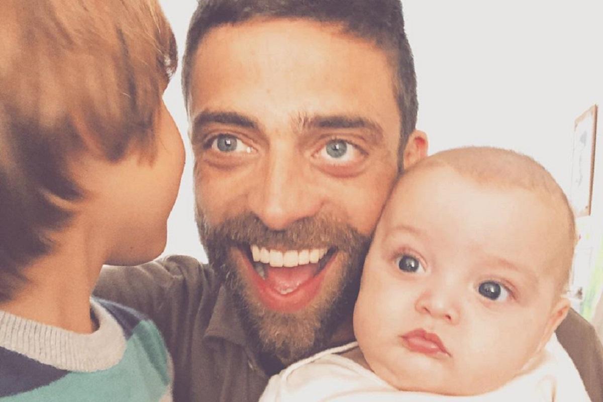 Diogo Amaral Oliver Mateus Diogo Amaral Mostra Brincadeira Entre Os Filhos E Encanta Fãs