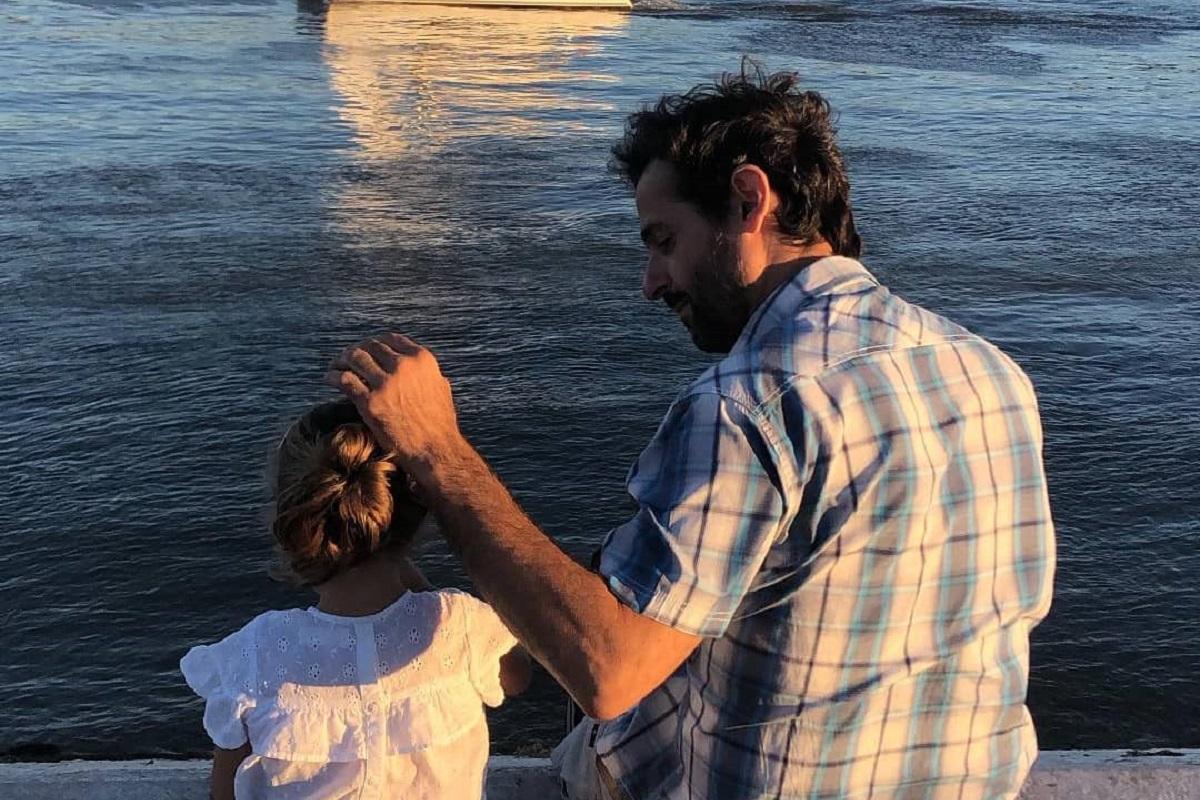 Gonçalo Diniz Filha Vitória Gonçalo Diniz Revela Carinhoso Momento Entre A Filha E O Avô Da Menina