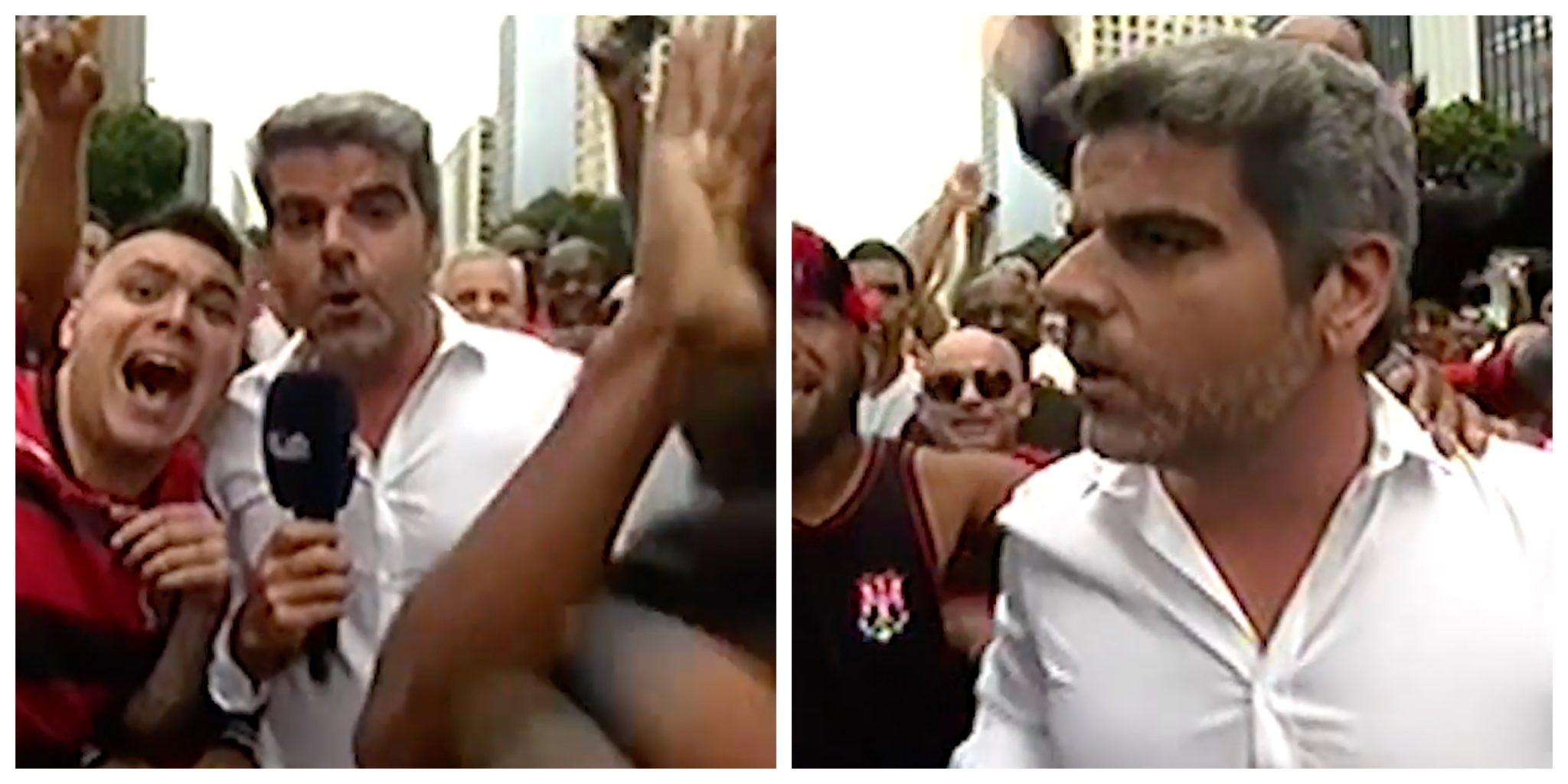 Jornalista Sic Direto Scaled Jornalista Da Sic &Quot;Roubado&Quot; Durante Direto A Partir Do Brasil