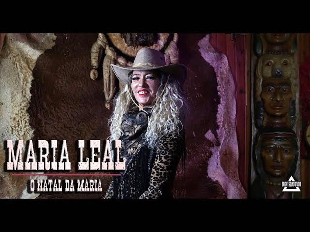 maria leal o natal da maria Maria Leal lança música de Natal!