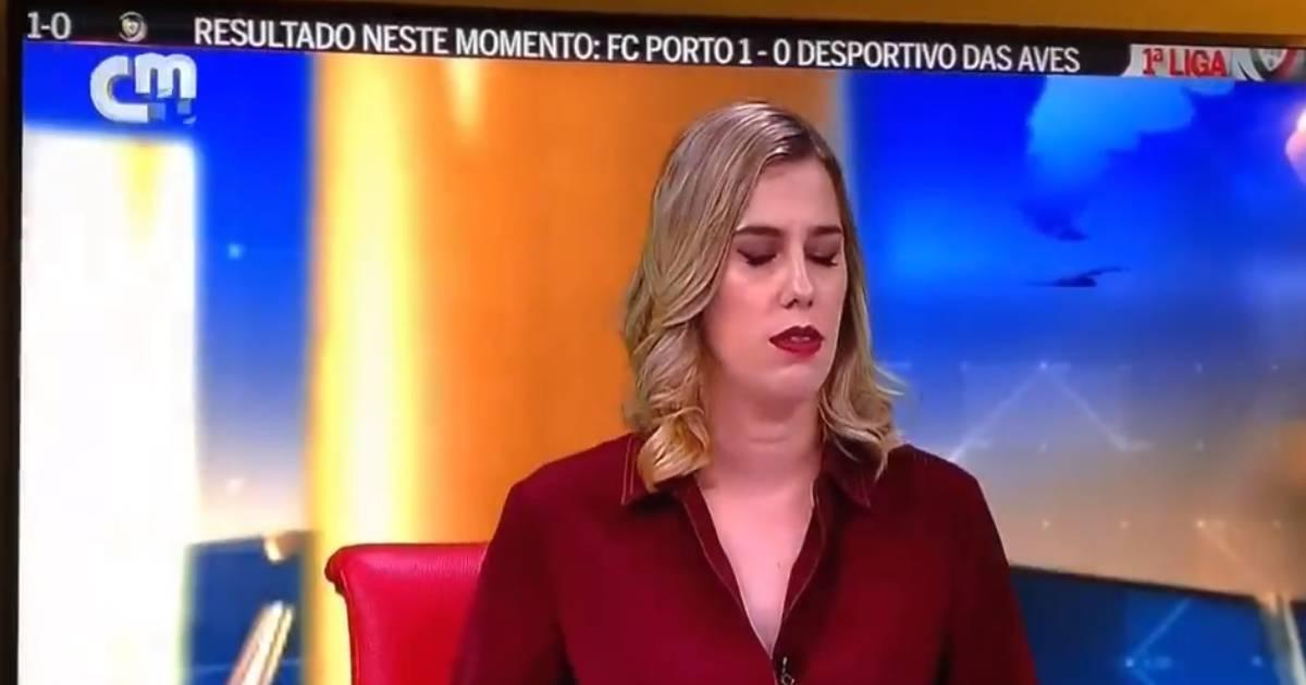 Mariana Aguas Cmtv Jornalista Mariana Águas Da Cmtv Diz Palavrão Em Direto