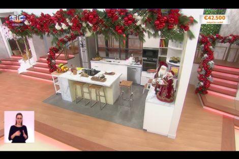 O Programa De Cristina Natal 12 Cristina Ferreira Inaugura A Decoração De Natal No 'Programa' E Promete Surpresas