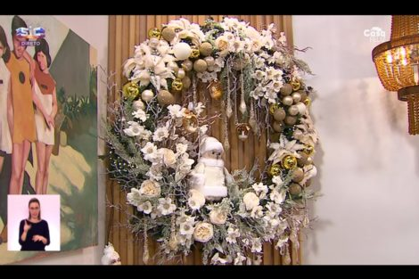 O Programa De Cristina Natal 13 Cristina Ferreira Inaugura A Decoração De Natal No 'Programa' E Promete Surpresas