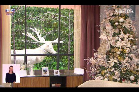O Programa De Cristina Natal 6 Cristina Ferreira Inaugura A Decoração De Natal No 'Programa' E Promete Surpresas